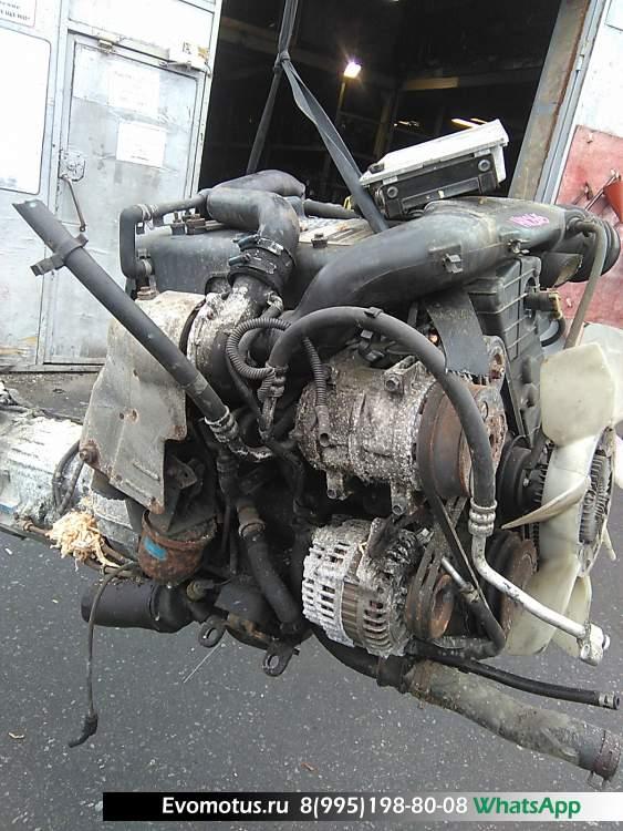 двигатель 4JX1TE ISUZU MU UES73 (Исузу Му)