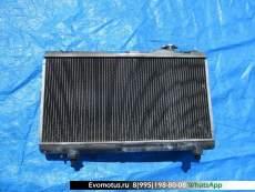 Радиатор двигателя  4E TOYOTA CORSA EL51  (Тойота Корса)