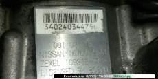 тнвд 16700-VG100 на ZD30DDTi на NISSAN  ELGRAND ATWE50 (Ниссан Эльгранд)