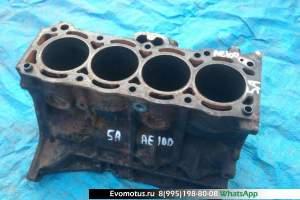 блок двигателя 5A TOYOTA COROLLA AE100 (Тойота Королла )
