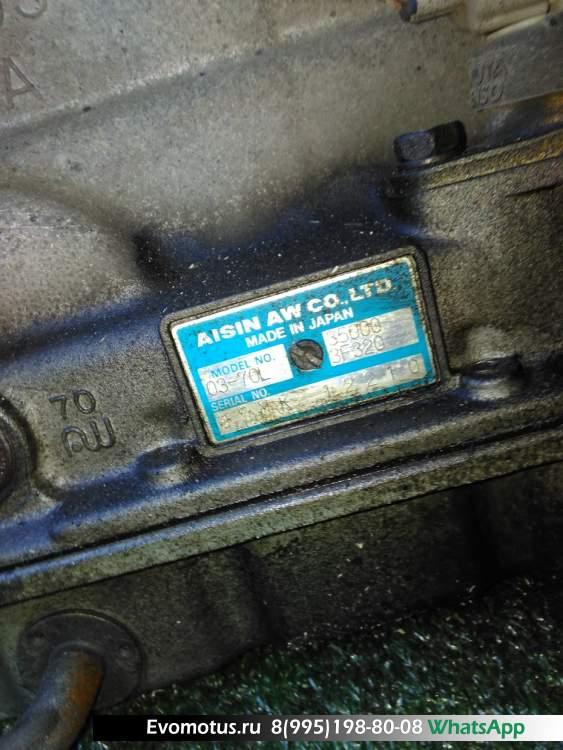 акпп 0370L, A42DLF362  на 1G-FE TOYOTA  CROWN GS130;GS131 (Тойота Краун)