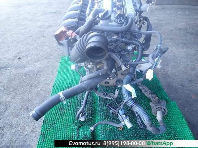 двигатель 1ZZ на TOYOTA RUNX ZZE124 (тойота ранкс)