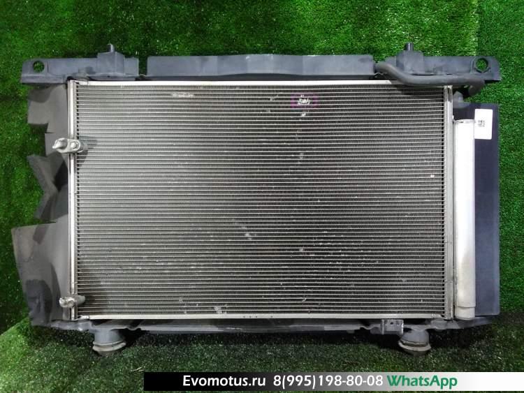Радиатор двигателя  2ZR-FE TOYOTA AURIS ZRE154  (Тойота Аурис)