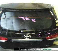 дверь пятая на 2zr-fae TOYOTA WISH zge20 (Тойота Виш) черный задняя