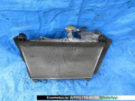 Радиатор двигателя  2SZFE TOYOTA VITZ SCP13  (Тойота Витц )