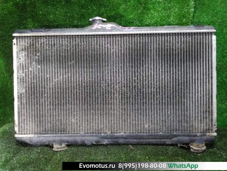 Радиатор двигателя  3C-E TOYOTA COROLLA CE107  (Тойота Королла)