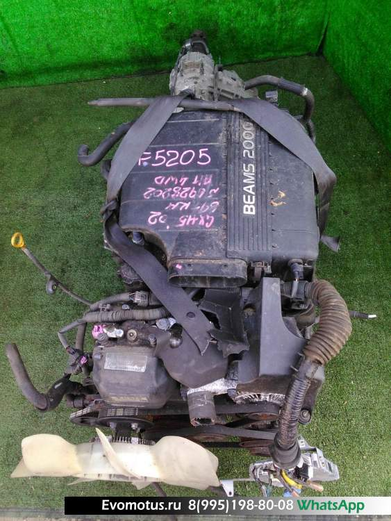 Двигатель 1G-FE TOYOTA CRESTA GX115 (Тойота Креста)