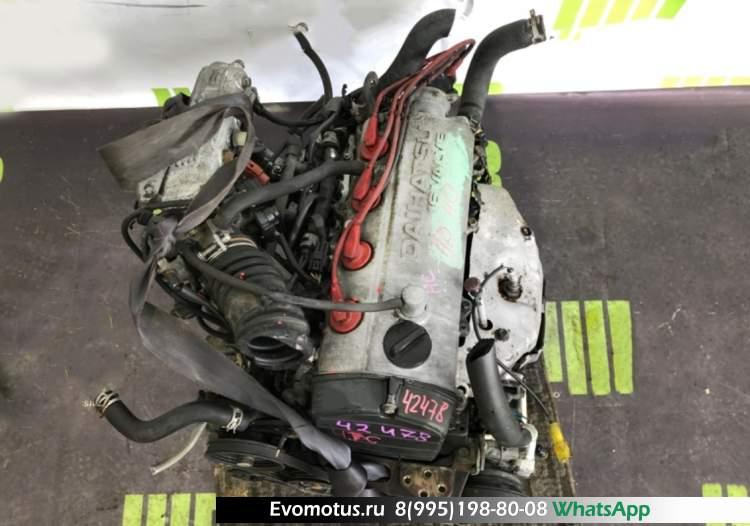двигатель HC на DAIHATSU CHARADE G102S (дайхацу шарад)