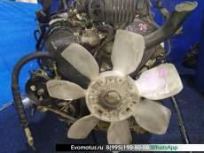 Двигатель Isuzu Bighorn UBS25 6VD1  на 6VD1 ISUZU  BIGHORN UBS25 (Исузу Бигхорн)