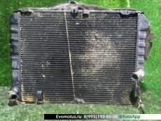 радиатор основной на 1KZ-TE TOYOTA  HIACE KZH100 (Тойота Хайс)