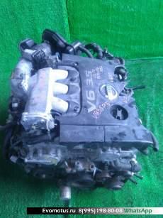 двигатель  на VQ35DE NISSAN  PRESAGE PU31 (Ниссан Пресаж)
