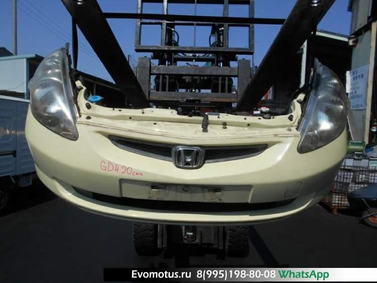 Ноускат на L15A HONDA FIT GD4 (Хонда Фит) бежевый