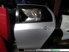 Дверь   TOYOTA VITZ KSP90  (Тойота Витц ) серебро Задн Лев