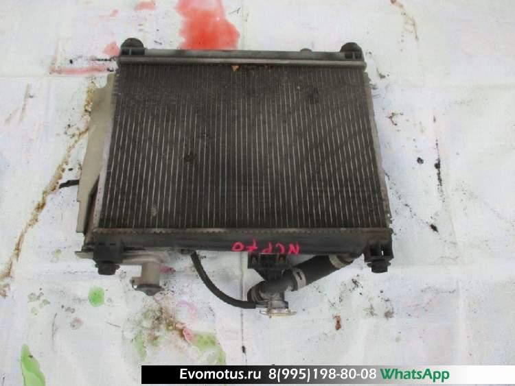 Радиатор двигателя  2NZ TOYOTA WILL CYPHA NCP70  (Тойота Вилл)