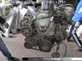 двигатель D15B  на HONDA Integra EK3 ( хонда Интегра)