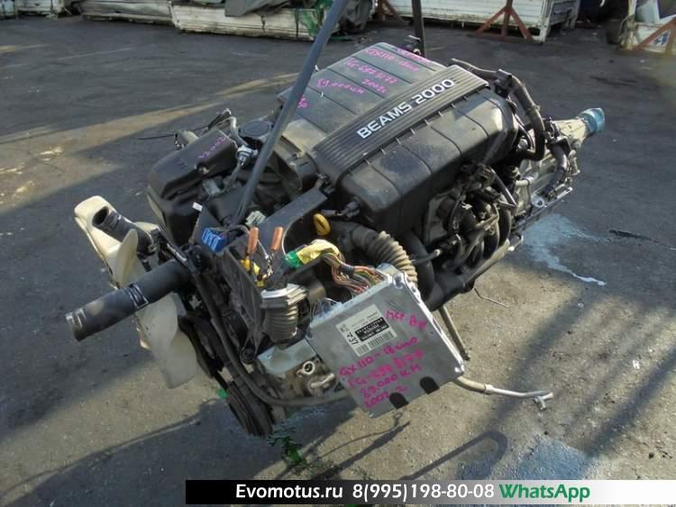 двигатель 1G на TOYOTA VEROSSA GX110 (тойота веросса) BEAMS