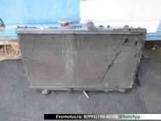 Радиатор двигателя  4A TOYOTA CARIB AE111  (Тойота Кариб)