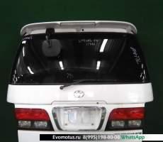 дверь пятая на 3rz-fe TOYOTA TOURING HIACE rch41 (Тойота Туринг Хайс) белый задняя