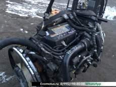 двигатель 6HK1T на ISUZU FORWARD FRR34 ( исузу форвард) COMMONRAIL