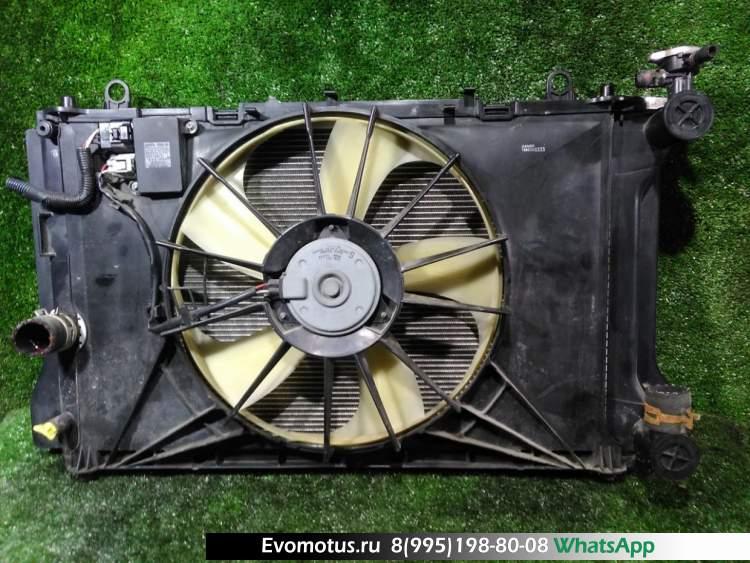 Радиатор двигателя  2ZR-FE TOYOTA FIELDER ZRE142  (Тойота Филдер)