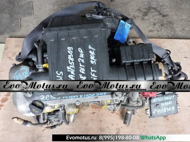 Двигатель M16A на SUZUKI SWIFT ZC31S (сузуки свифт)