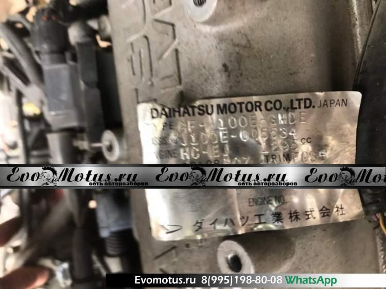 двигатель HC TOYOTA CAMI J100E (Тойота Ками)