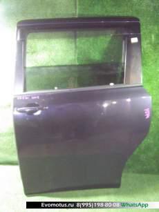 дверь на  TOYOTA VOXY ZRR70;ZRR75 (Тойота Вокси) СЕРЫЙ задняялевый