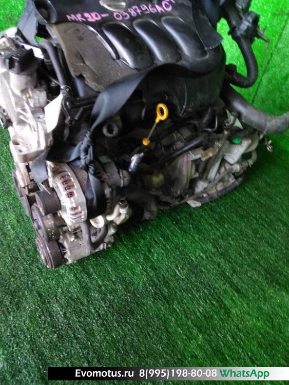 двигатель  MR20DE на NISSAN LAFESTA B30 (Ниссан Лафеста)