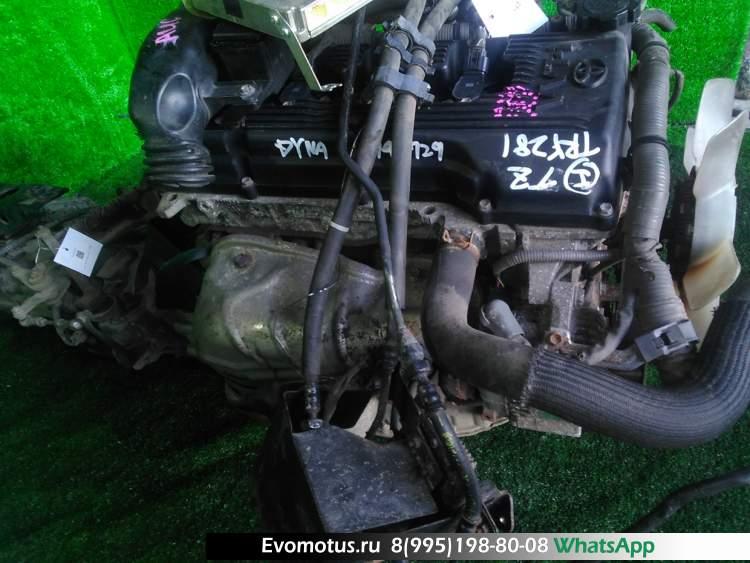 двигатель на 1TR-FPE TOYOTA  DYNA TRY281 (Тойота Дюна)