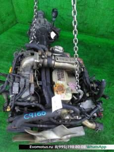 двигатель  на TD27BT NISSAN  MISTRAL R20 (Ниссан Мистраль)