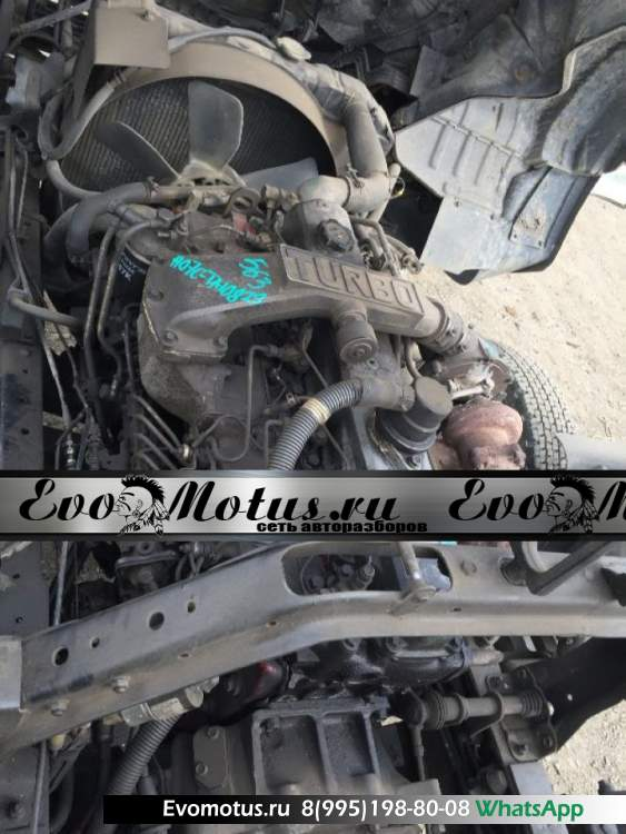 двигатель H07CT HINO RANGER FD2HLB (хино ренжер) мех тнвд