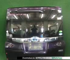 дверь пятая на 3zr-fae TOYOTA NOAH zrr80 (Тойота Ноах) фиолетовый задняя