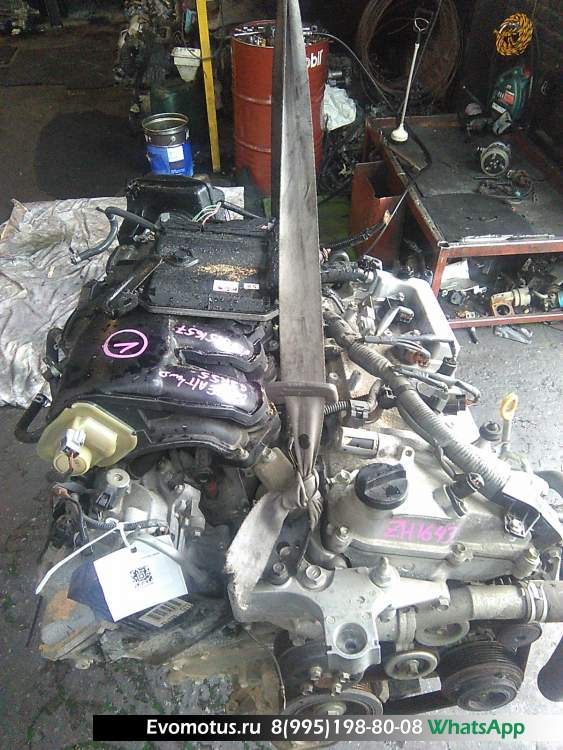 двигатель 2GR на TOYOTA ESTIMA GSR55 (тойота эстима)