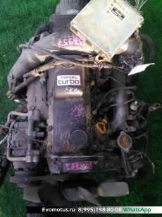 двигатель на 1KZ-TE TOYOTA  HIACE KZH106;KZH116;KZH126 (Тойота Хайс)