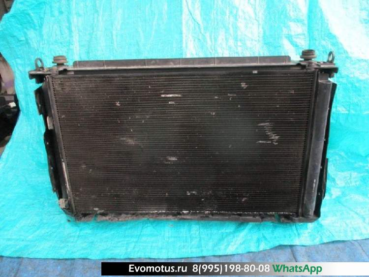 Радиатор двигателя  2AZ TOYOTA VANGUARD ACA33  (Тойота Вэнгард )