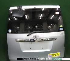 дверь пятая на 3zr-fae TOYOTA NOAH zrr70 (Тойота Ноах) серый задняя