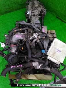 двигатель  на QD32ETI NISSAN  ELGRAND AVWE50 (Ниссан Эльгранд)