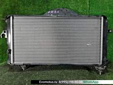 Радиатор двигателя  7K-E TOYOTA TOWNACE KM75  (Тойота Таунайс )