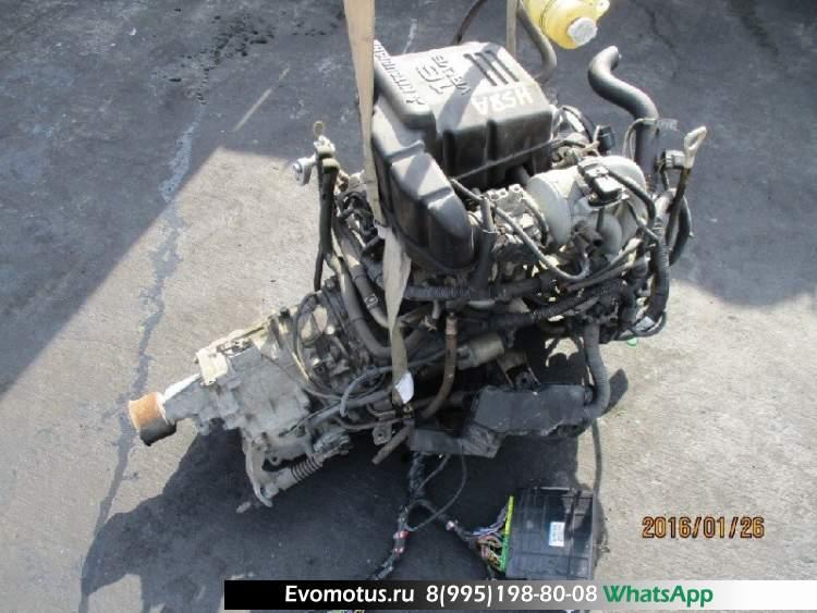 АКПП RE4R01ACA46 на KA20DE NISSAN  ATLAS H2F23 (Ниссан Атлас)