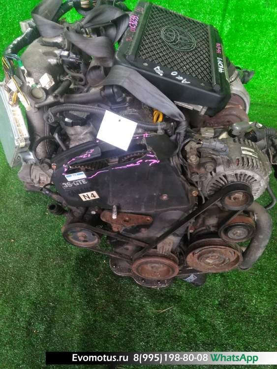 двигатель на 3S-GTE TOYOTA  CALDINA ST215 (Тойота Калдина)