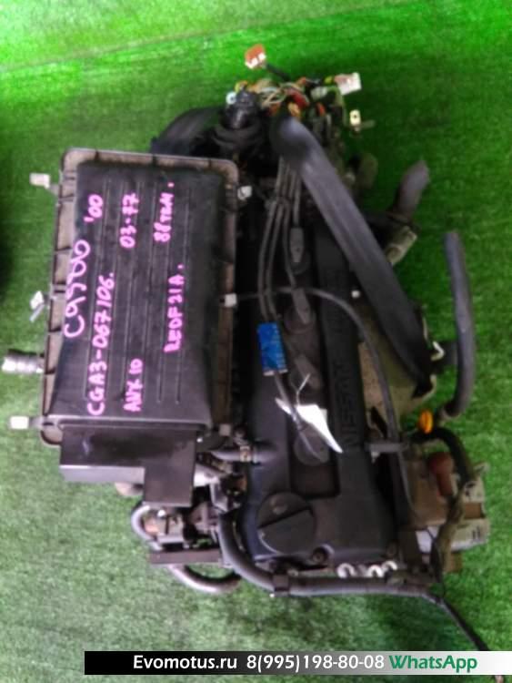 двигатель  CGA3DE на NISSAN MARCH ANK11 (Ниссан Марч)
