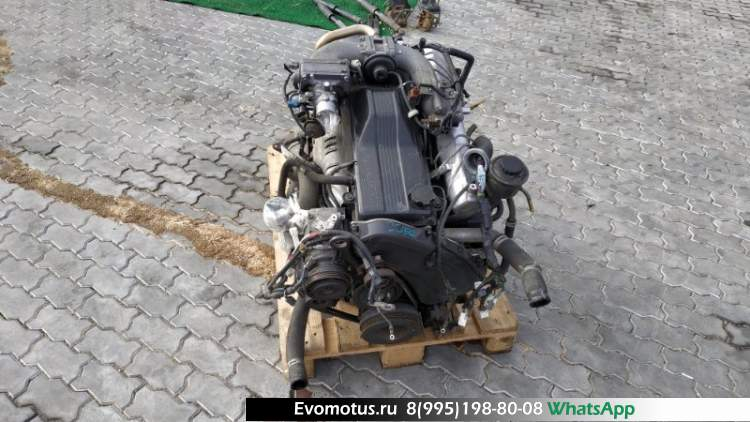 двигатель 1HDFTE на TOYOTA LAND CRUISER HDJ101 (тойота ленд крузер)