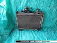 Радиатор двигателя  2NZ TOYOTA FUNCARGO NCP20  (Тойота Функарго)