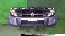 Ноускат  на 6G72 MITSUBISHI  PAJERO V83W (Мицубиси Паджеро) СЕРЕБРИСТЫЙ