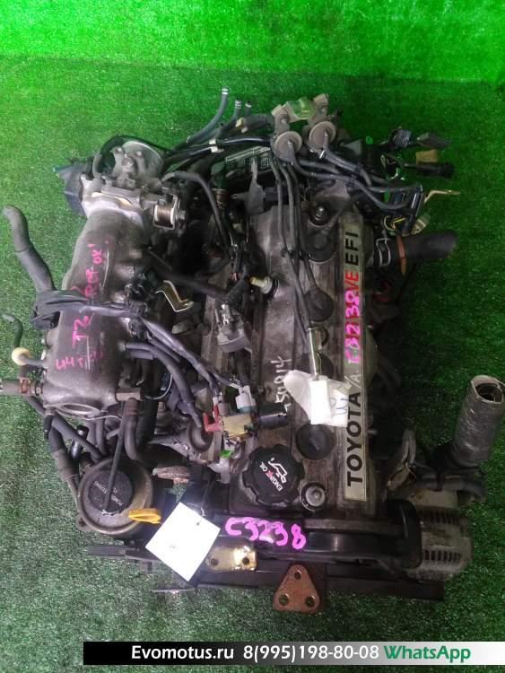 двигатель на 4A-FE TOYOTA  COROLLA AE95 (Тойота Королла)