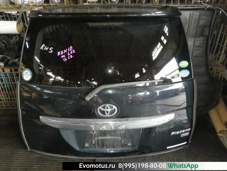 Дверь пятая   TOYOTA ISIS ZGM10  (Тойота Исис) чёрный