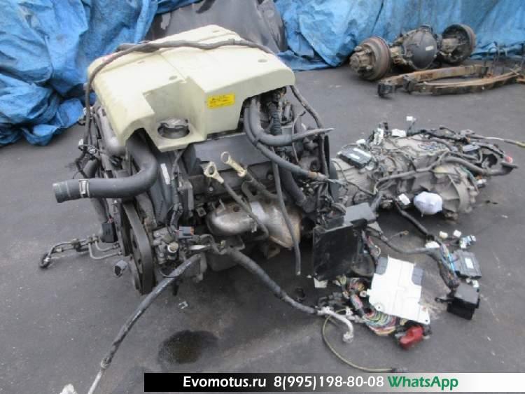 двигатель 6G74 GDI на MITSUBISHI PAJERO V75W (МИЦУБИСИ ПАДЖЕРО)