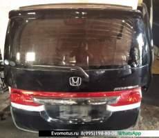 Дверь 5-я Honda Stepwagon RG1 K20A  черный 4V8