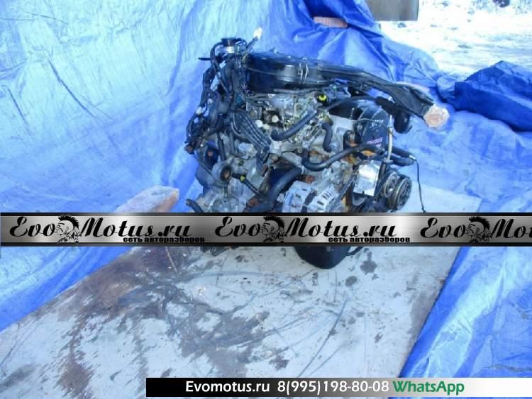 Двигатель 3G83 на MITSUBISHI MINICA H22A (Мицубиси Миника)
