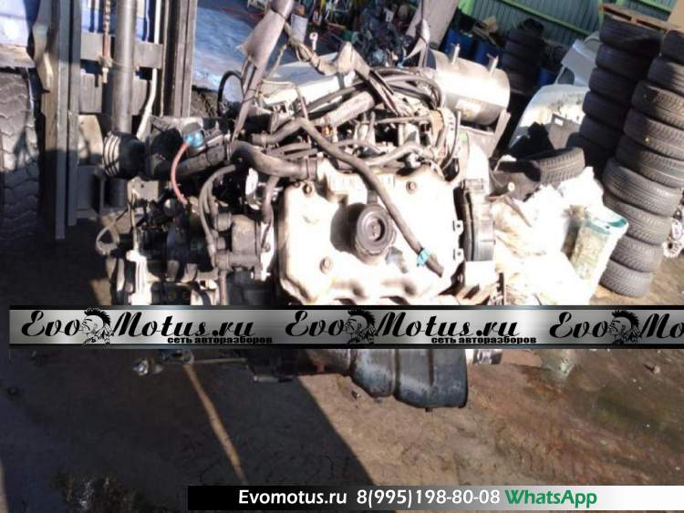 двигатель EF12 на SUBARU DOMINGO FA7 (субару доминго)